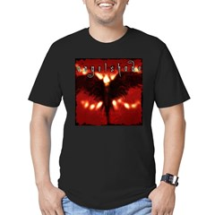 reverb store Men's Fitted T-Shirt (dark)