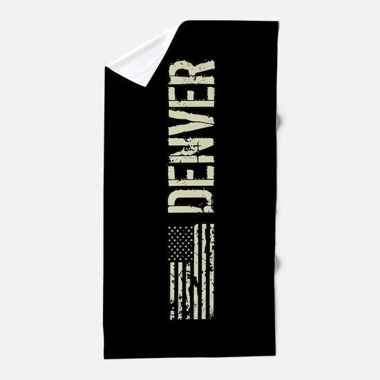 Black Flag: Denver Beach Towel
