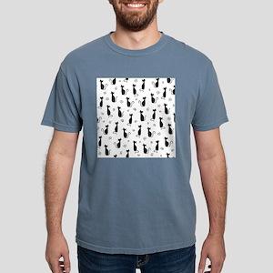 Black Cats Mens Comfort Colors Shirt