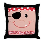 Pirate Bed-D-Bye Buddy Throw Pillow