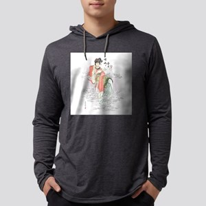 Chinese Moon Goddess Mens Hooded Shirt