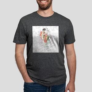 Chinese Moon Goddess Mens Tri-blend T-Shirt