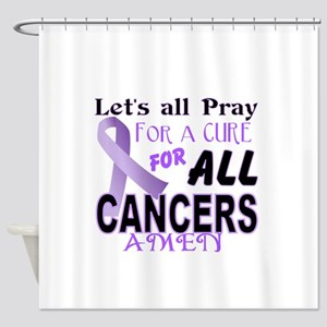 All Cancer Shower Curtain