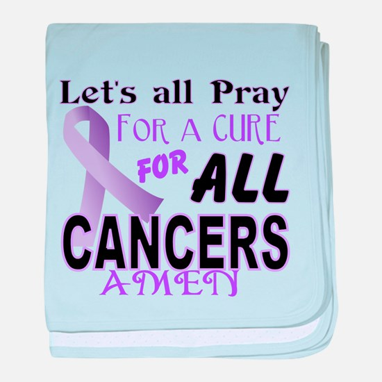 All Cancer baby blanket