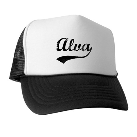 Vintage: Alva Trucker Hat