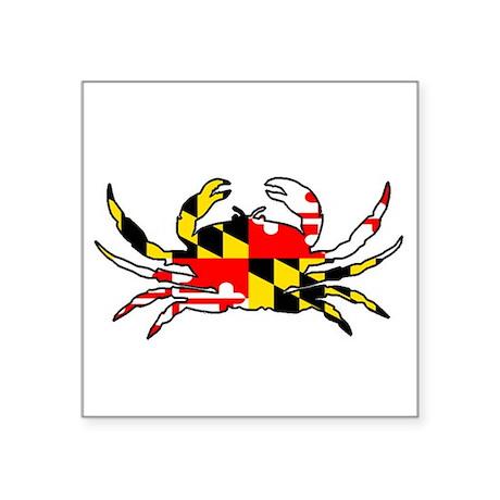 Maryland Crab Sticker