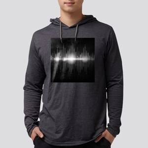 Sound Wave Mens Hooded Shirt
