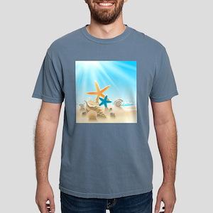 Summer Beach Mens Comfort Colors Shirt