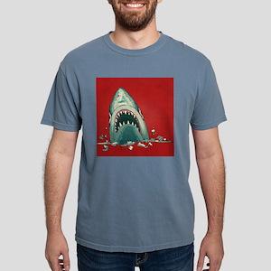 Shark Attack Mens Comfort Colors Shirt
