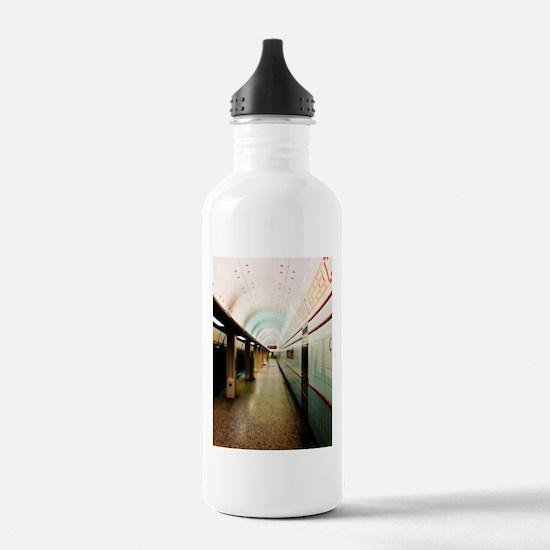 Chicago El Train Water Bottle