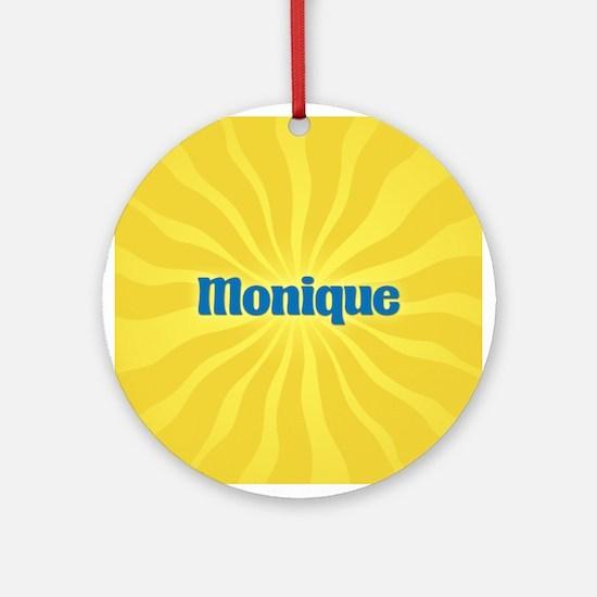 Monique Sunburst Ornament (Round)