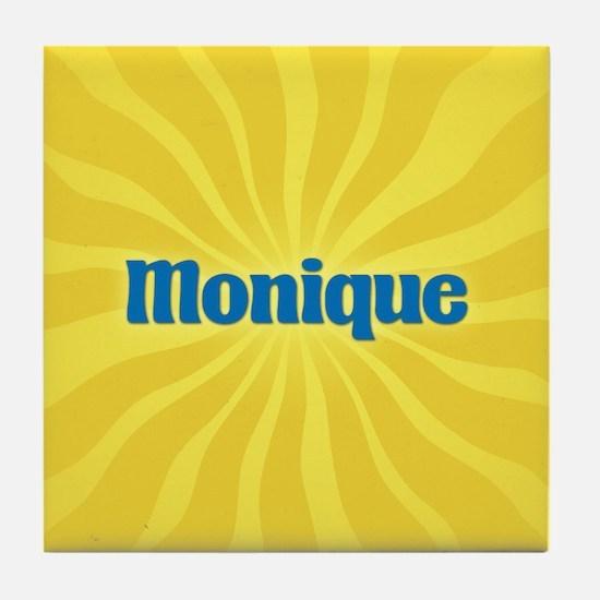 Monique Sunburst Tile Coaster