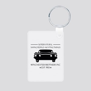 Supernatural Aluminum Photo Keychain