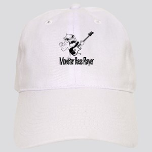 monster bass player Cap