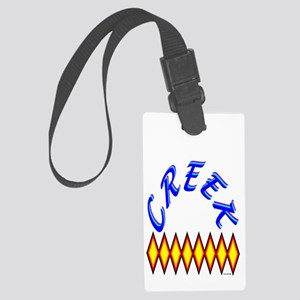 CREEK TRIBE Large Luggage Tag