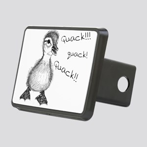Duckling Quack, Baby Duck Rectangular Hitch Cover