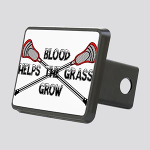 Lacrosse blood helps the g Rectangular Hitch Cover