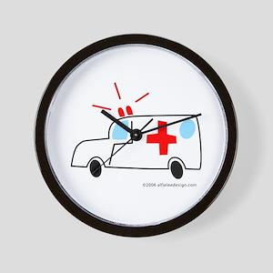 Wee Ambulance! Wall Clock