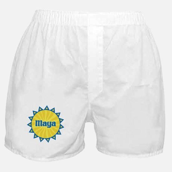 Maya Sunburst Boxer Shorts