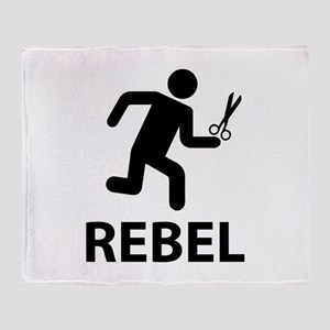 REBEL Throw Blanket