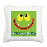 Monster Bed-D-Bye Buddy Square Canvas Pillow