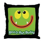 Monster Bed-D-Bye Buddy Throw Pillow