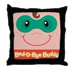 Superhero Bed-D-Bye Buddy Throw Pillow