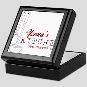 Nonna's Kitchen Keepsake Box