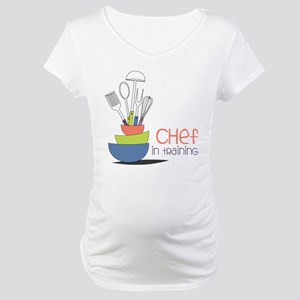 Chef in Training Maternity T-Shirt