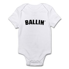 Ballin' Infant Bodysuit