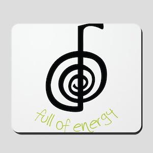 Full Of Energy Mousepad