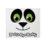 Panda Bed-D-Bye Buddy Throw Blanket