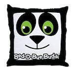 Panda Bed-D-Bye Buddy Throw Pillow