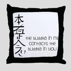 Buddha In Me Throw Pillow