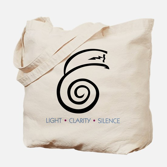 Light Clarity Silence Tote Bag