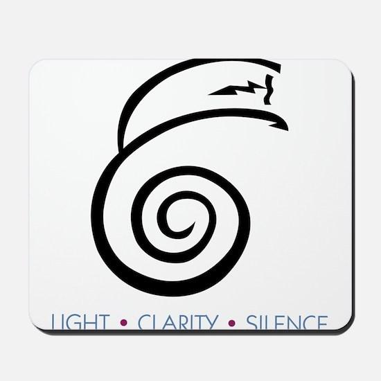 Light Clarity Silence Mousepad