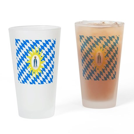 Catholic League Flag Drinking Glass