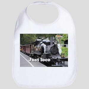 Just loco: steam train, Victoria, Australia Bib