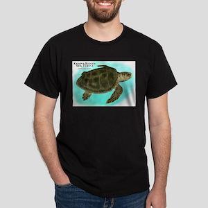 Kemp's Ridley Sea Turtle Dark T-Shirt