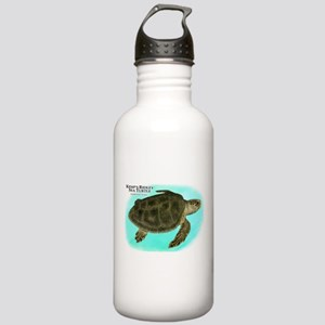 Kemp's Ridley Sea Turtle Stainless Water Bottle 1.