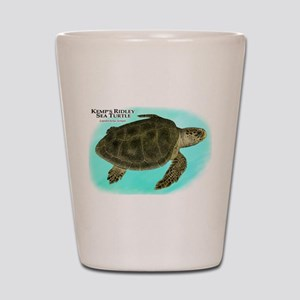 Kemp's Ridley Sea Turtle Shot Glass