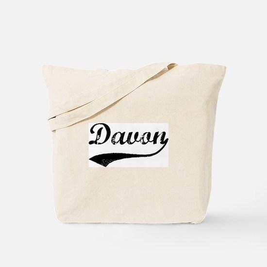 Vintage: Davon Tote Bag