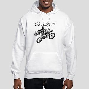 """Oh......Sh_t!!"" Hooded Sweatshirt"