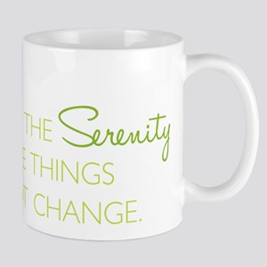 I Cannot Change Mug