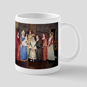 Her Majesty Elizabeth I with Ladies in Waiting Mug