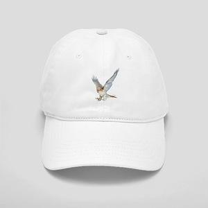 striking red-tail hawk Cap