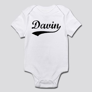 Vintage: Davin Infant Bodysuit