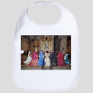 Her Majesty and Ladies at Prayer Bib