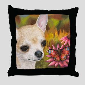 dog 85 Throw Pillow