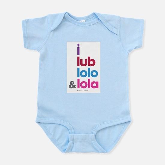 i lub lolo & lola Infant Bodysuit